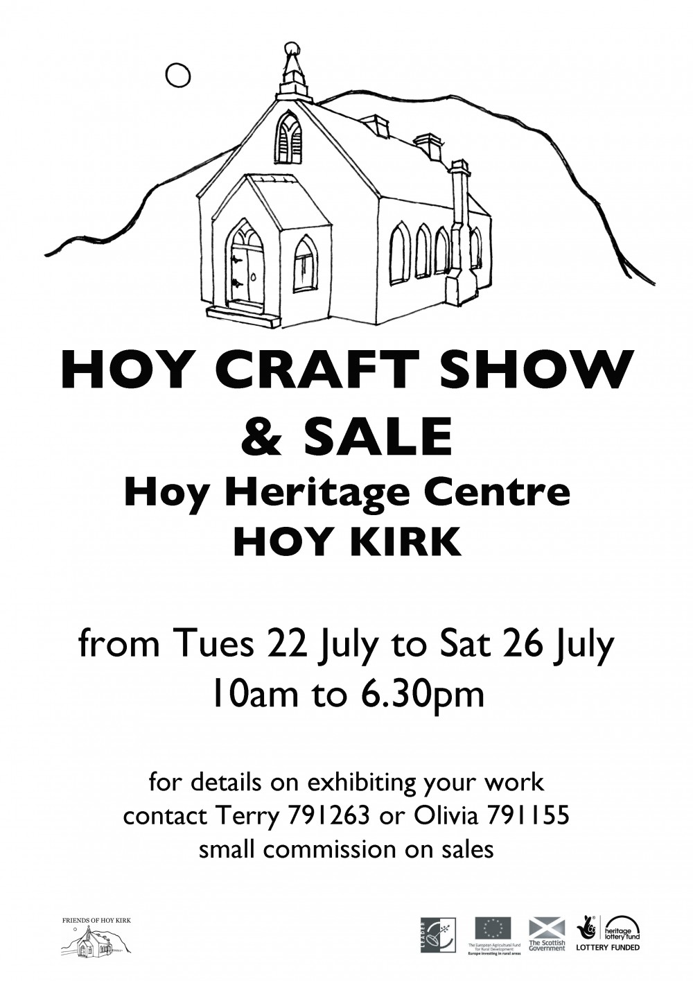 Hoy craft show 2014