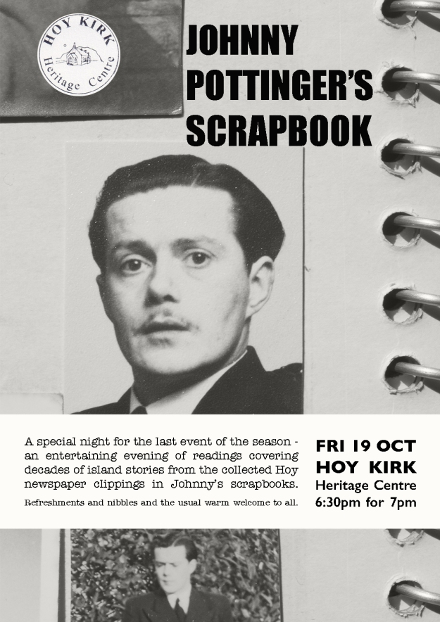 Johnny Pottinger's scrapbook poster