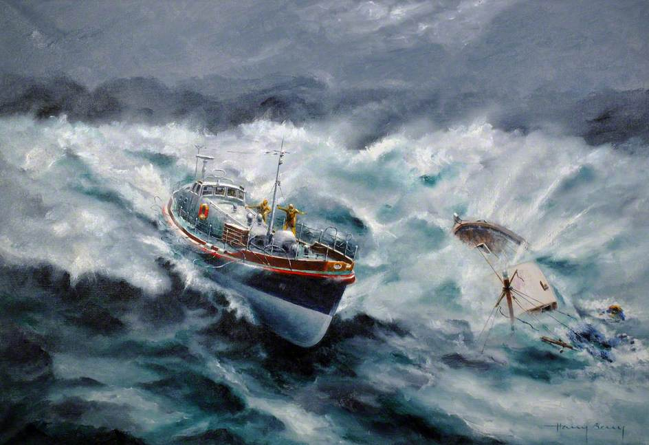 Berry, Harry, 1905-1994; Longhope Lifeboat 'TGB'