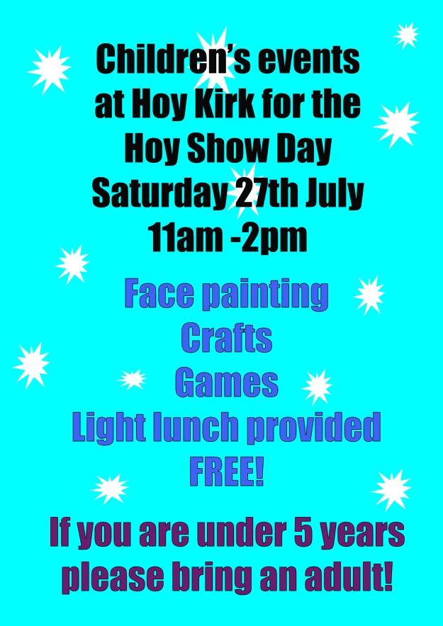 Hoy show Hoy Kirk events